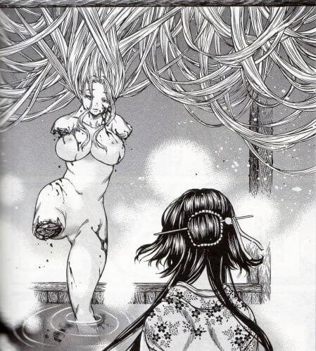 「当て屋の椿」 川下寛次 P154 (ジェッツコミックス)