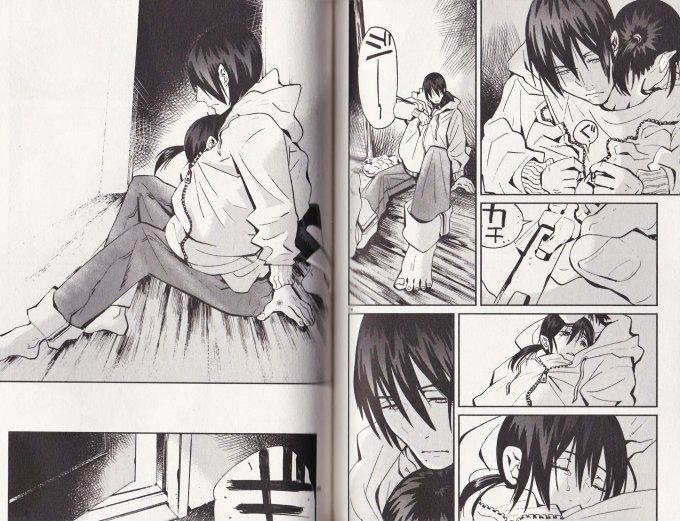 「よるくも 2巻」 漆原ミチ P92-93 (IKKI COMIX)